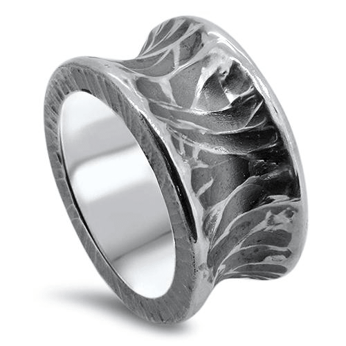 Sterling Silver Mystery Man Ring