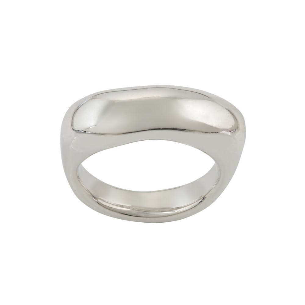 Sterling Silver Unity Large Ring