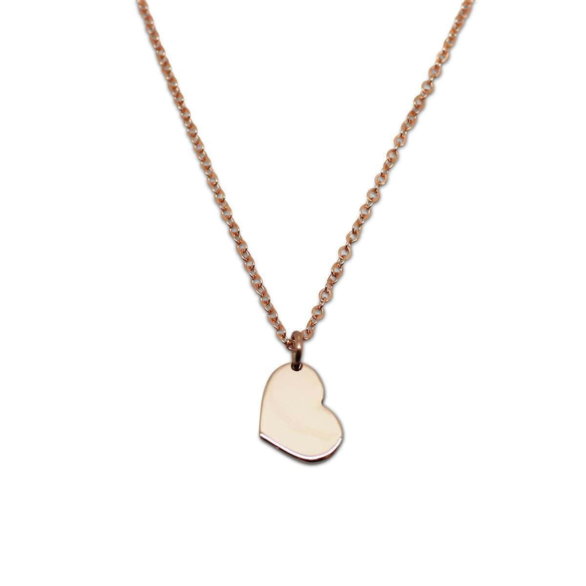 9kt Yellow Gold Little Heart Necklace