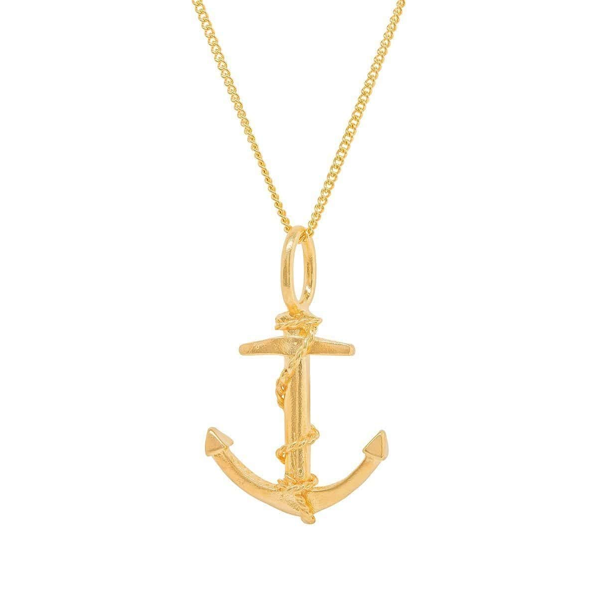Anchor Gold Plated Charm