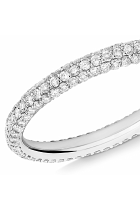 18kt White Gold & Diamond Gemopoli Ring