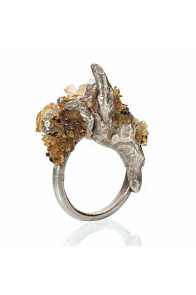 Cascade Ring Citrine
