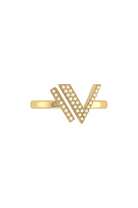 14kt Yellow Gold Plated Visionary Ring