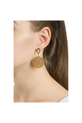 Silk Web Earrings