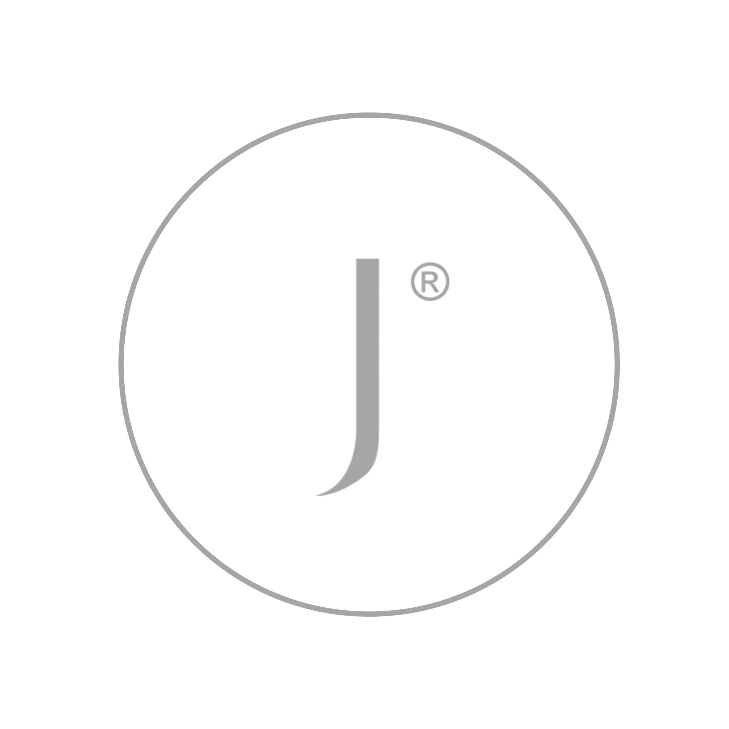Regenz Stainless Steel Garnet & Aquamarine Drop Choker Necklace