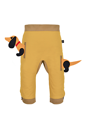 Pocket Set Trousers Duo Colori with Animal Toy | Puppy