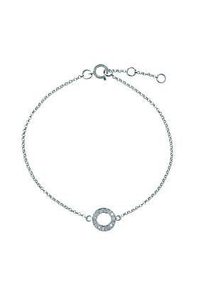 Portobello White Gold Meridian Diamond Bracelet