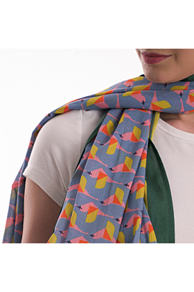 The Organic Cotton Fly Up Scarf
