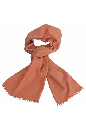 Woollen Naturally Dyed Eco-Friendly Shawl Scarf | Botanica Bright Pink