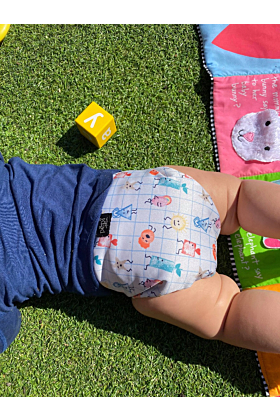 Happy Stamps Reusable Cloth Nappy