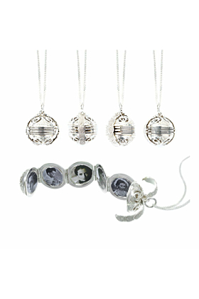 Sterling Silver Memory Keeper Locket Necklace