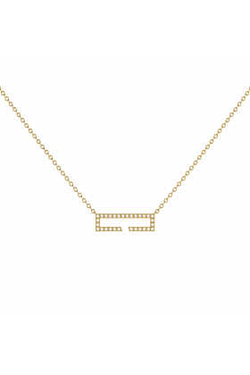 14kt Yellow Gold Plated Swing Necklace