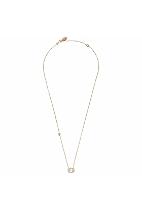 Cancer Zodiac Necklace Rosegold