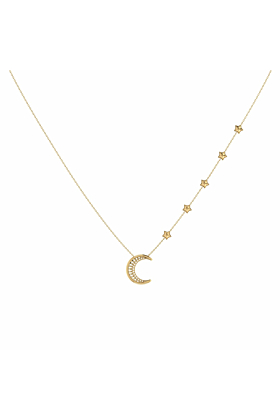 14kt Yellow Gold Plated Starry Lane Necklace