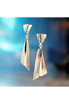 Sterling Silver Countess Earrings