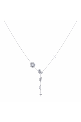 Sterling Silver Moon Stages Necklace