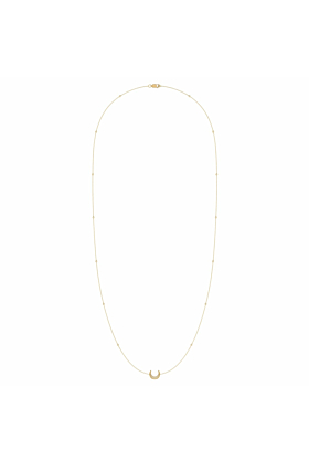14kt Yellow Gold Plated Silver Midnight Necklace