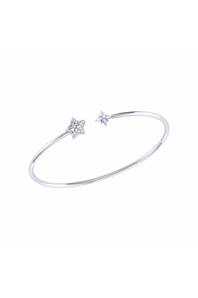 Sterling Silver Starry Night Cuff