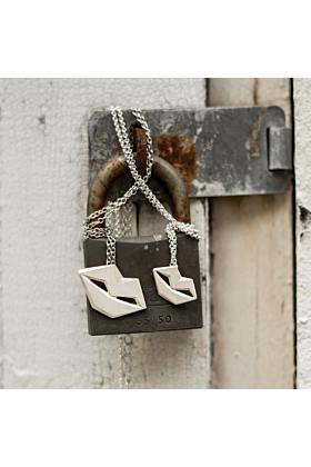 Unspoken Silver Necklace Small