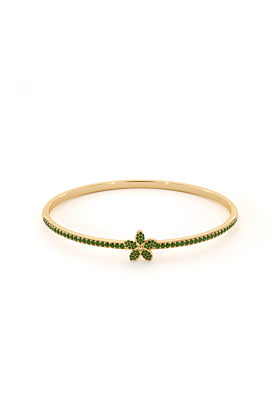 Garland Bangle with Peridot