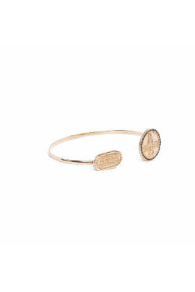 Scarab Yellow Gold Bracelet