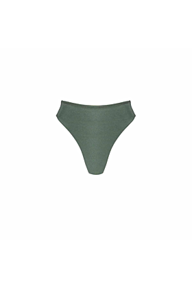 George Bottom In Army Green