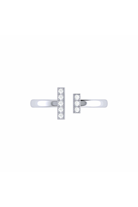 Sterling Silver Parallel Park Ring