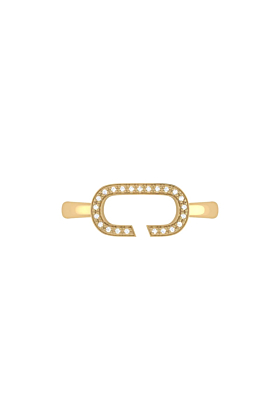 Yellow Gold Plated Celia C Ring