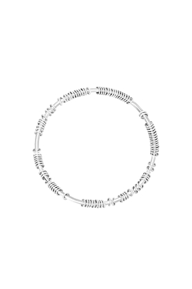 Centi Bangle With Silver Rings