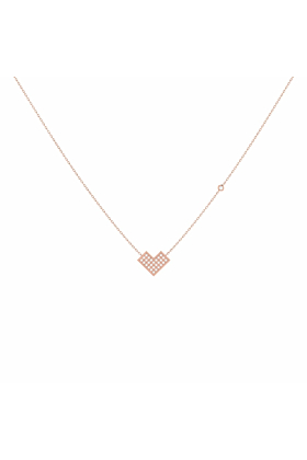 14kt Rose Gold Plated One Way Necklace
