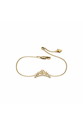 14kt Yellow Gold Plated Starry Cascade Bracelet
