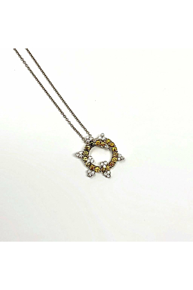 18kt White Gold Dream Necklace