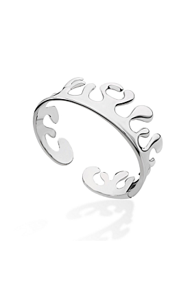 Hinged Wave Bangle