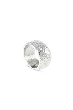 Sterling Silver Men's Duco Ring | Paul Magen