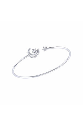 Sterling Silver Starkissed Crescent Cuff