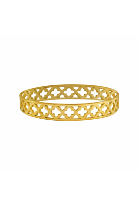 Gold Moroccan Bangle