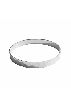 Sterling Silver Journey Bangle