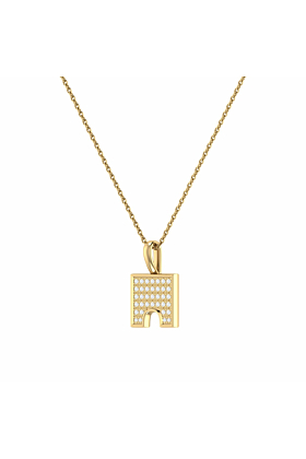 14kt Yellow Gold Plated City Arches Pendant