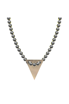 Made In Britain Necklace - 9kt Rose Gold Vermeil Bunting