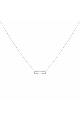 Sterling Silver Swing Necklace