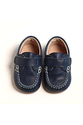Baby / Toddler Boys Navy Loafers