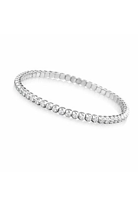 18kt White Gold Mode Bracelet ll