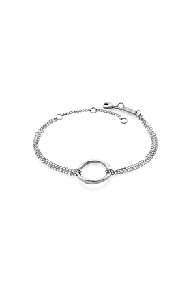 Sterling Silver Circle Of Life Bracelet