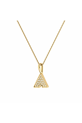 14kt Yellow Gold Plated Skyscraper Pendant