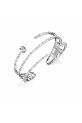 18kt White Gold Mode Bracelet l