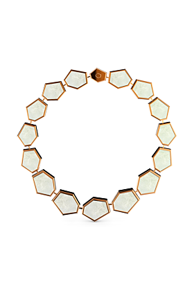 Rose Gold & Mother Of Pearl Bracelet
