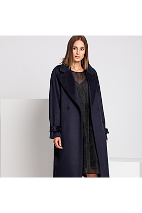 Wool Active Coat | Purple