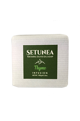 Natural Olive Oil Soap | Thyme Infusion 100g