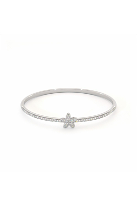 Garland Bangle with Cubic Zirconia