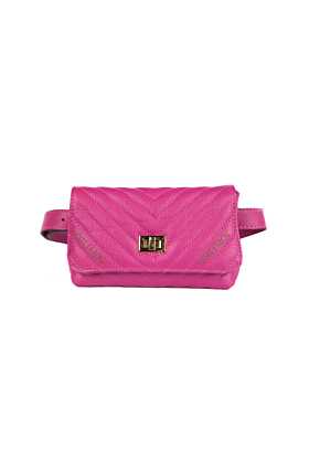 Flamingo Leather Bumbag